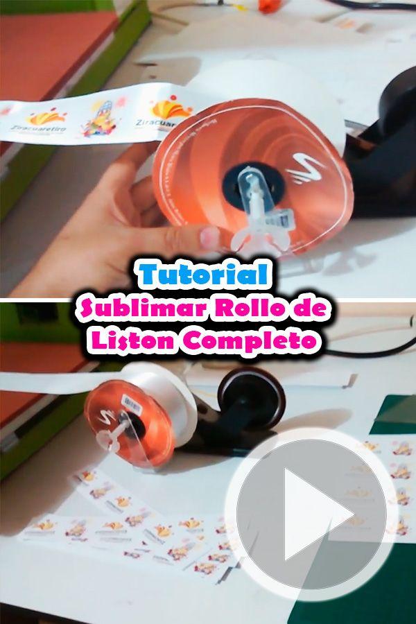 b79d48f2abf8 En este video tutorial te mostramos ✅como  imprimir o  sublimar un rollo de