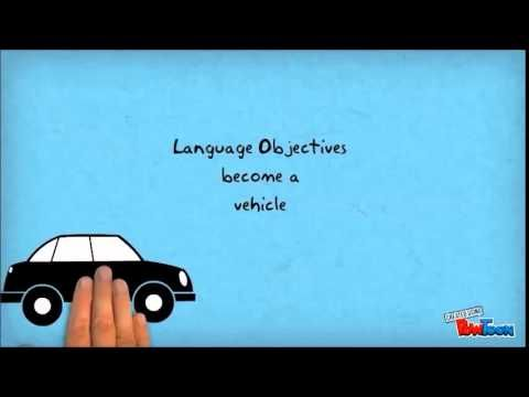17 best images about content and language objectives on