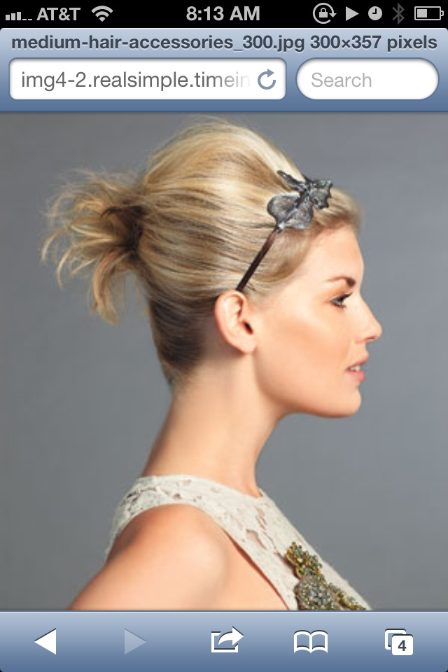 Hairstyles For Short Hair Using Bumpits : my own hair by aline the higher the hair the closer to god i always ...
