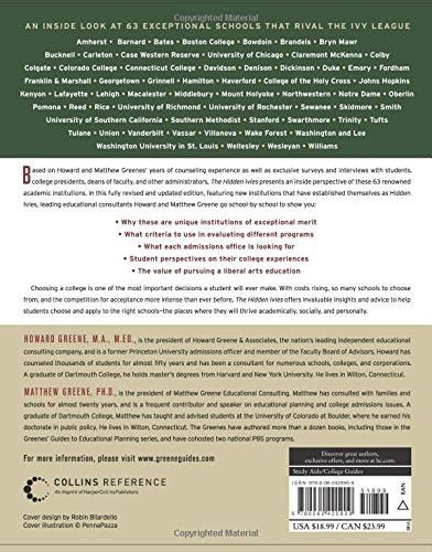 The Hidden Ivies, 3rd Edition: 63 of America's Top Liberal Arts Colleges and Universities (Greene's