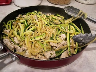 zucchini linguine.  making this!