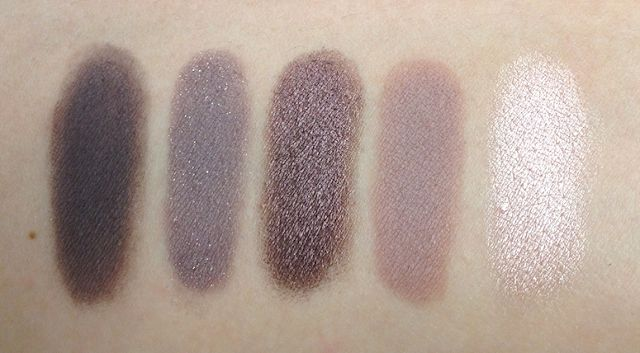 Inglot 460 (second shade)   378, 460, 423, 344, and 397. For anyone who loves the mauve, violet, plum, and champagne combos. These make a beautiful day look and a dreamy hazy smokey eye.