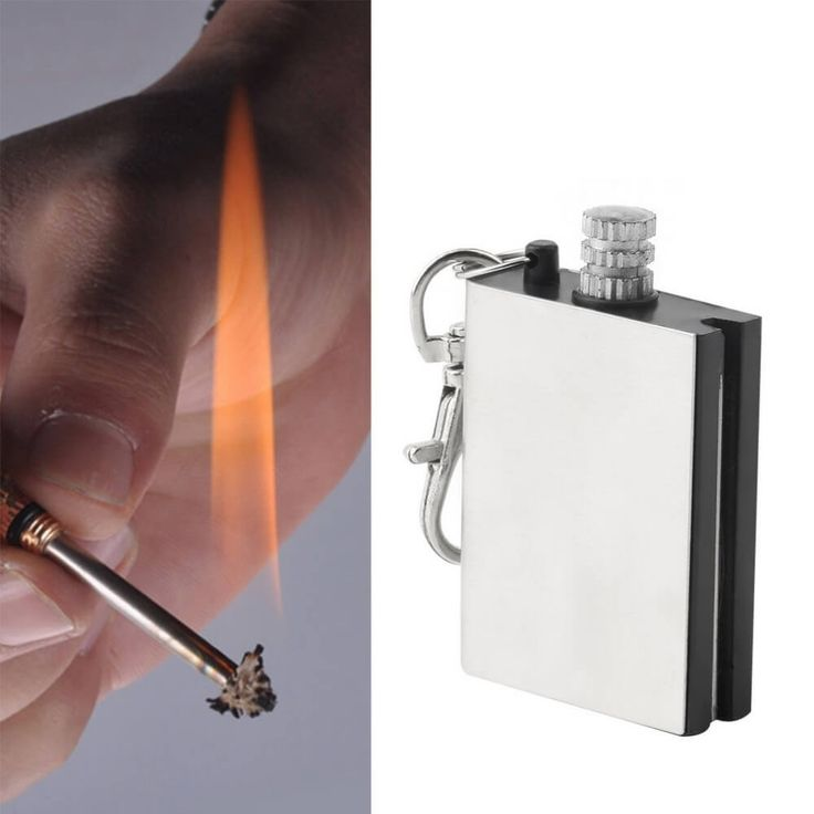 Emergency Fire Starter Flint Match Lighter 6