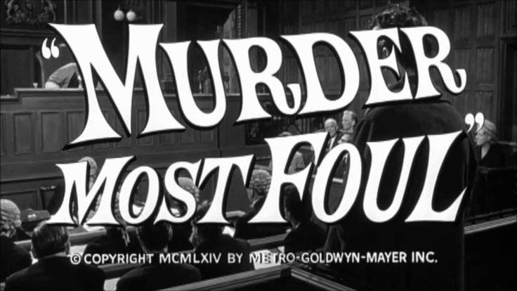 Miss Marple: Murder Most Foul (1964) - Trailer Margaret Rutherford