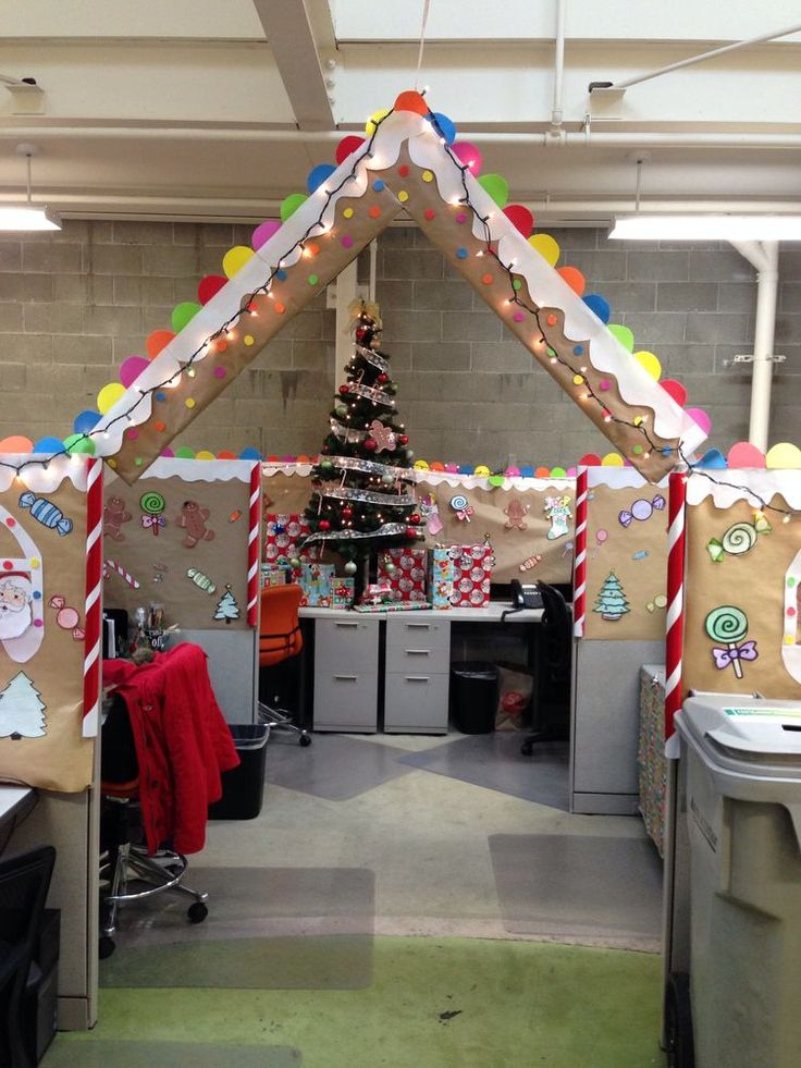 24 Best Gingerbread Cubicle Images On Pinterest Cubicle