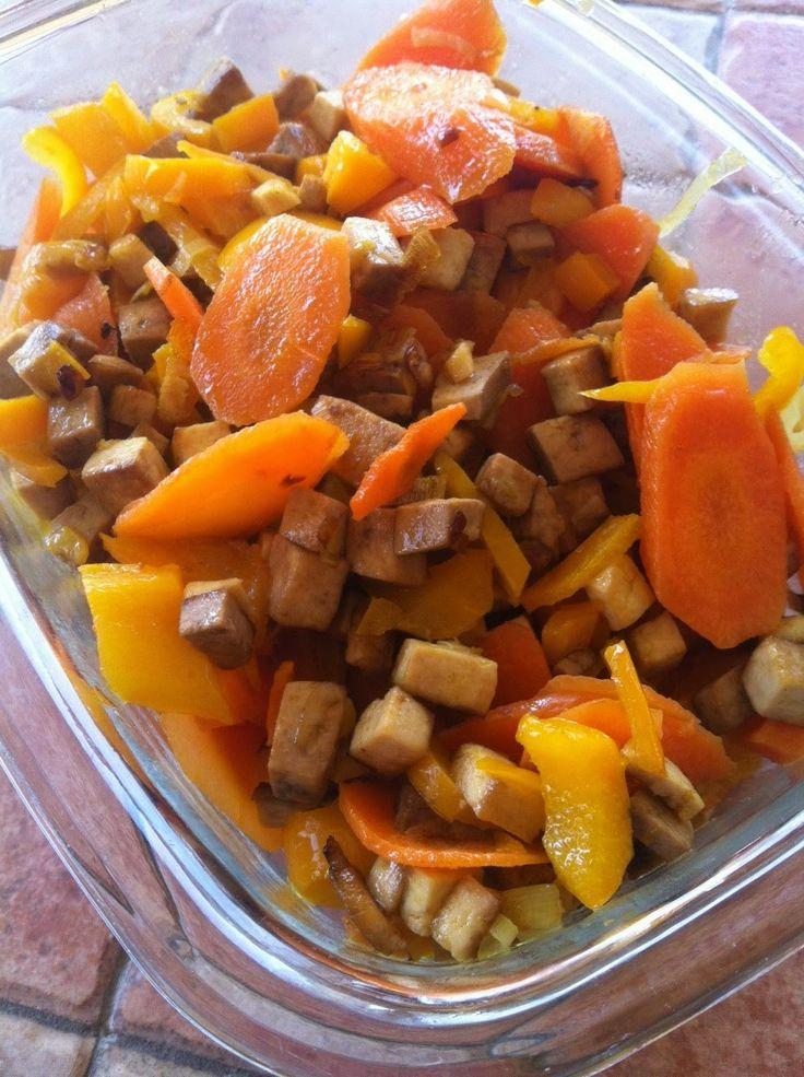 MAMMA MIA QUANTE RICETTE: Tofu alle verdure