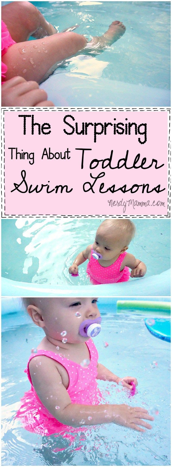 Ok. Yeah--I didn't realize this either about toddler swimming lessons. Guess I should get on that. LOL!
