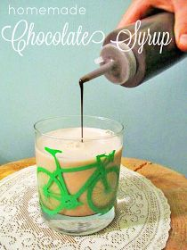 tales from a cottage: Homemade Chocolate Syrup