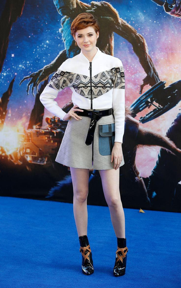 I feel weird wanting to copy Karen Gillan's hair, but then I remember she's just awesome anyway.