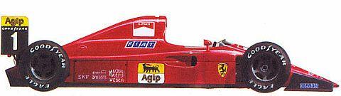 1990 Ferrari 641-2