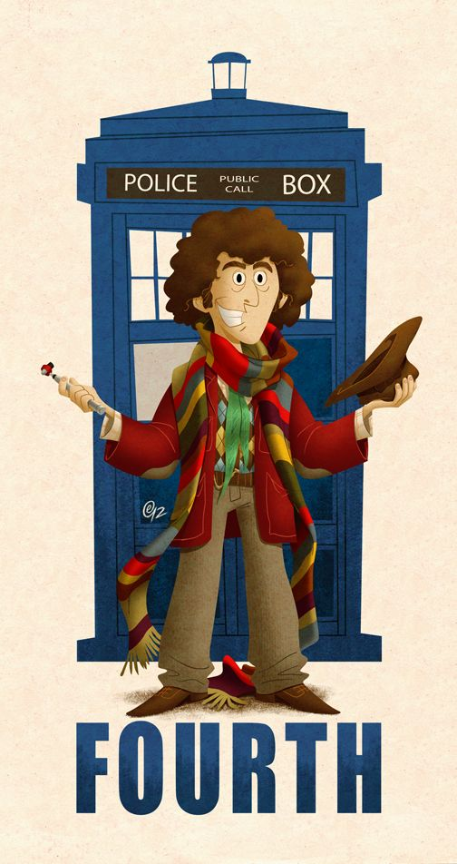4th Doctor. Now don't get me wrong, David Tennant is, and ALWAYS WILL BE my favorite doctor, but Tom Baker was my first doctor! =) ♥ AND he's got an awesome scarf. AND an awesome hat!