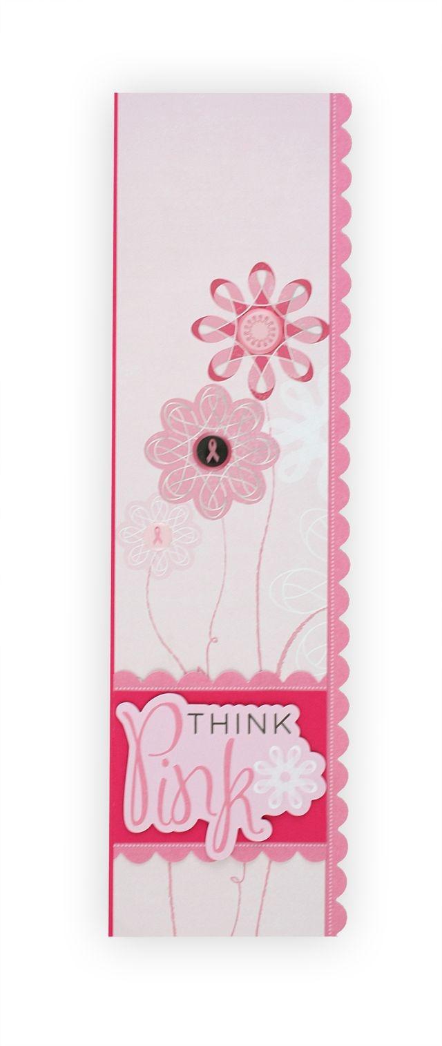 Scrapbook border ideas - Think Pink Scrapbooking Border Idea