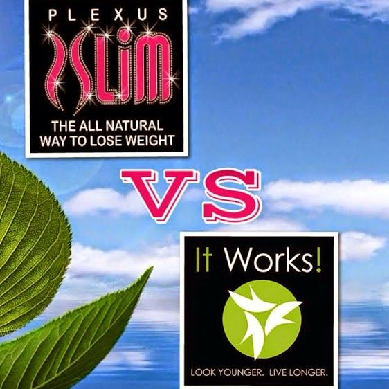I have used both.  Never lost any weight with It works.  Only short term results.  Greens are very hard to drink!  I have lost 24 pounds and sleep better and have less fibro pain.  I am so happy I gave Plexus Slim a real try.  Independent Ambassador 200569