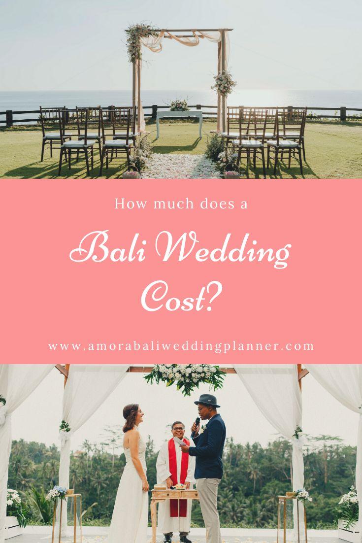 How much does a Bali Wedding Cost? in 2020 Bali wedding