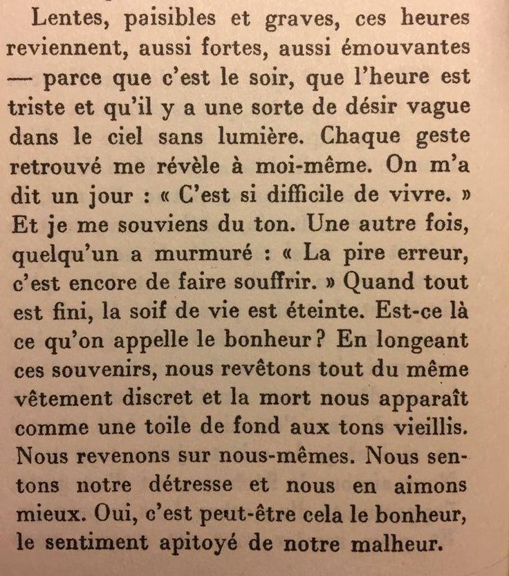 "Albert Camus ""Entre oui et non"""