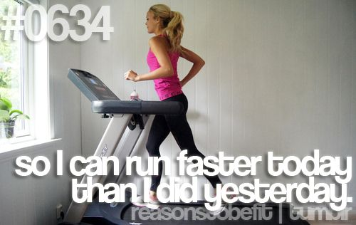 To run faster.