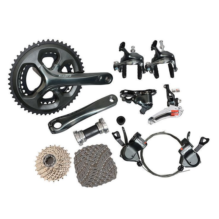 shimano Tiagra 4700 Road Full Groupset Group 2x10-speed 170mm //Price: $615.95 & FREE Shipping //     #hashtag2