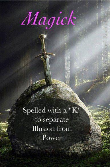 magick vs magic pagan wiccan