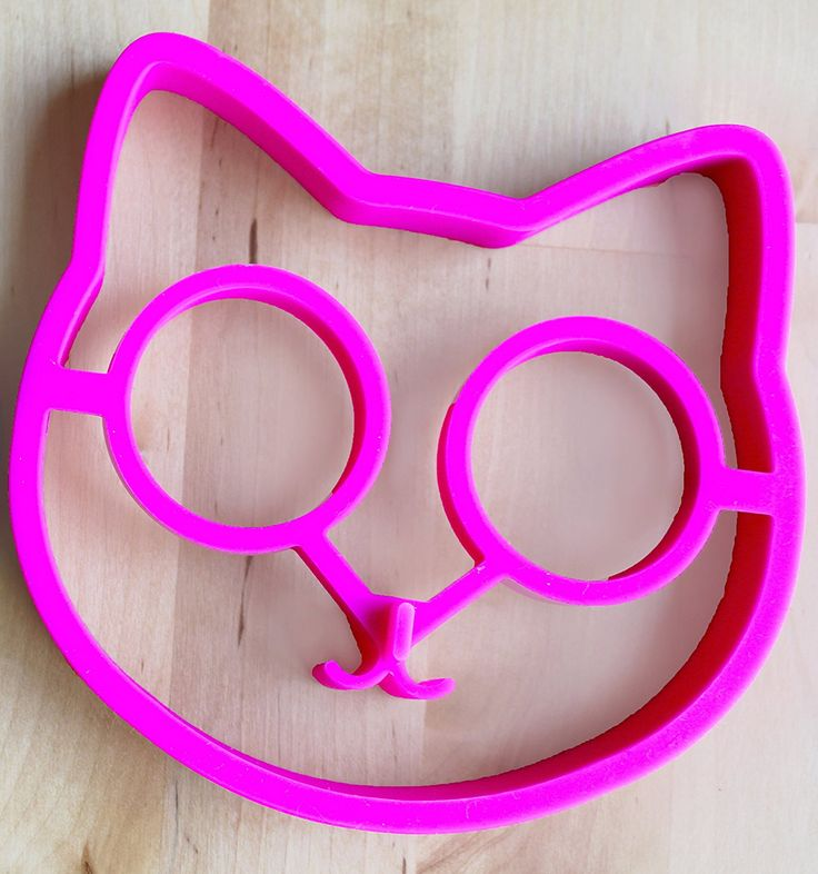 Cat Egg Mold By Egg Addiction ● Perfect Ring Molds for Fried Sunny Side up Eggs