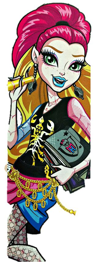 new monster high artwork | Monster High: Artwork Gigi Grant New Scaremester part II