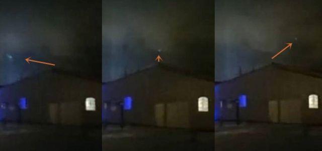 Strange ball of light spotted in the night sky over Sweden |UFO Sightings Hotspot