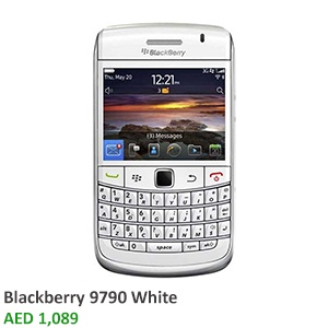 Be stunned by the speed and responsiveness of a touchscreen of the BlackBerry Bold 9790 smartphone.