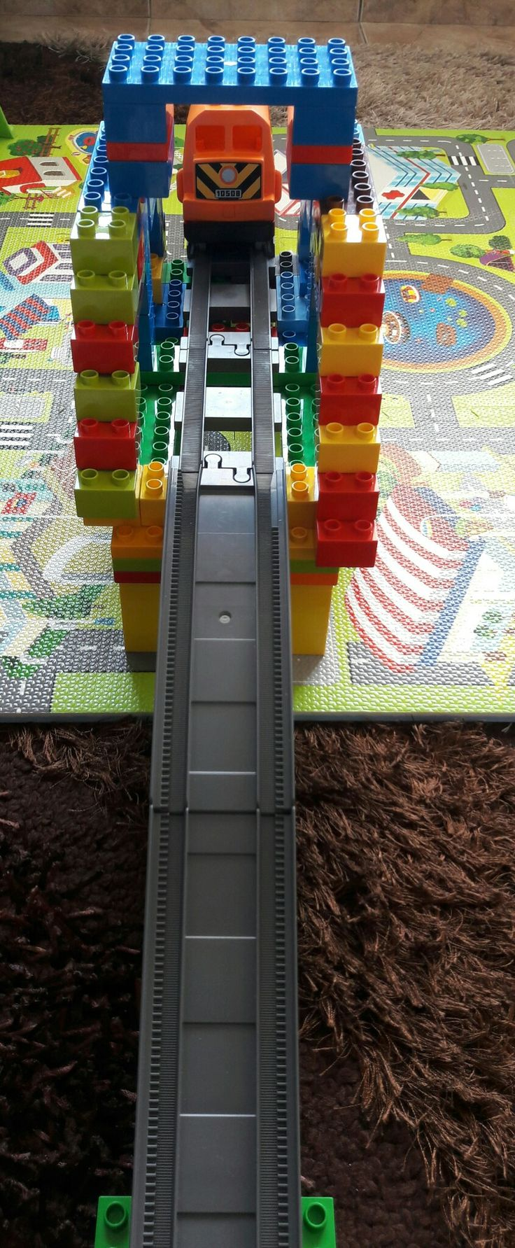 Duplo train bridge 2