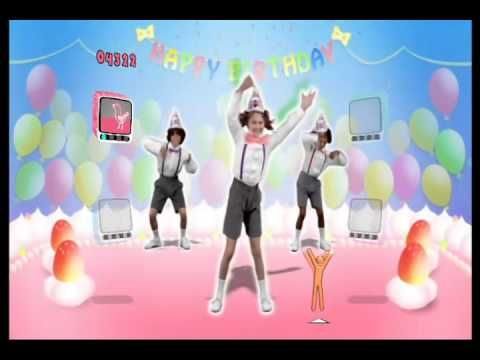 Just Dance Kids Happy Birthday To You - YouTube