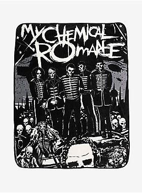 Sweet Dreams, MCR fans // My Chemical Romance The Black Parade Group Throw Blanket