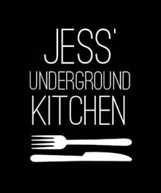 Jess' underground kitchen  Cool Monday-Wednesday home cooking concept. Must check this out!