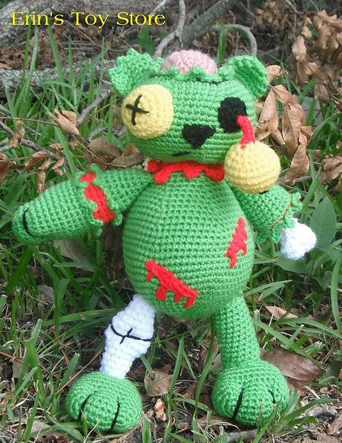 Ravelry: Zombie Bear A Crochet Pattern pattern by Erin Scull
