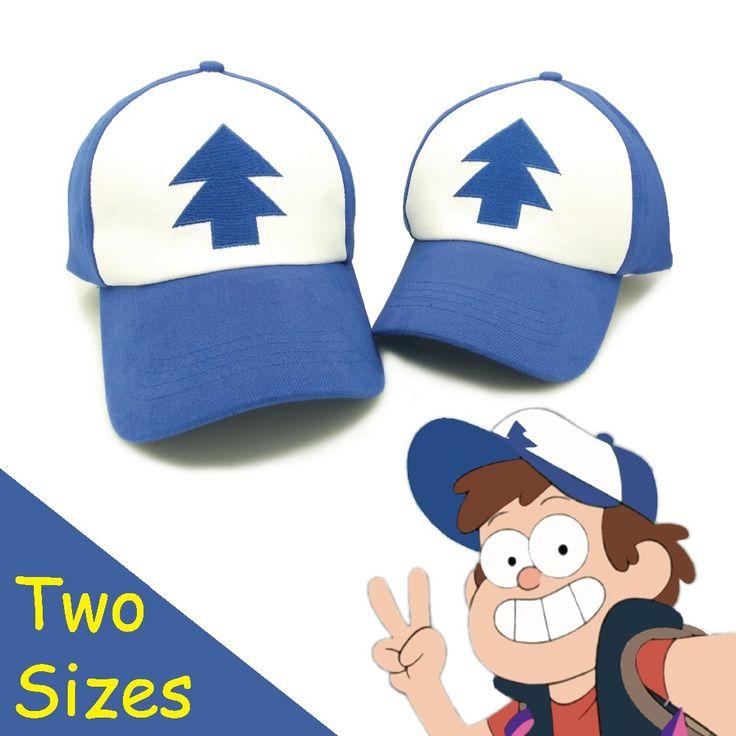 Hoge kwaliteit katoen Zwaartekracht Valt U.S Cartoon Animatie Mabel Dipper Fans Volwassen kids Jongens Meisjes honkbal Caps Gorras planas