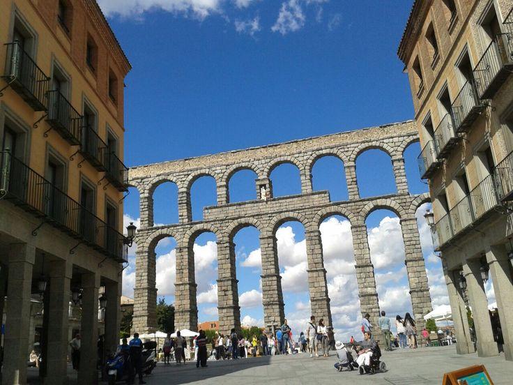 Acuaducto de Segovia, España