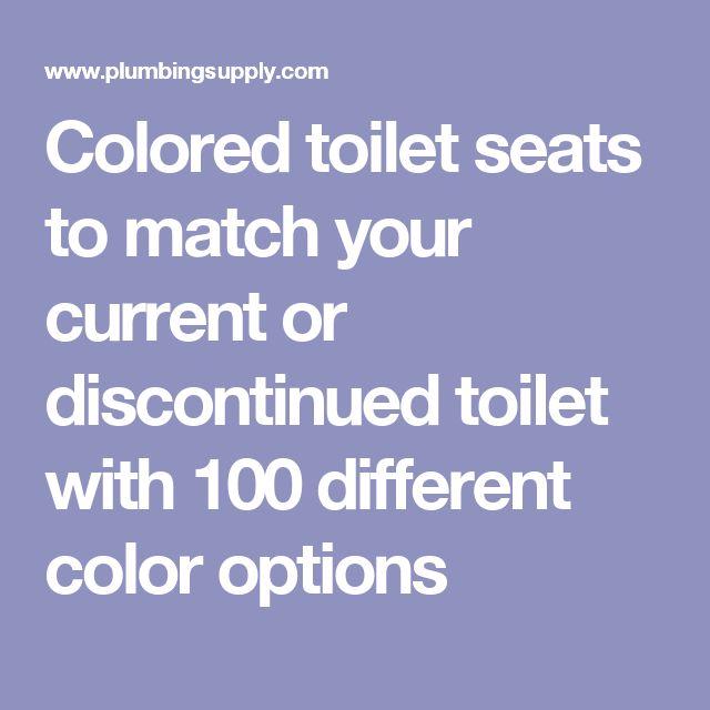 Best 25+ Coloured toilet seats ideas on Pinterest   Blue toilet ...