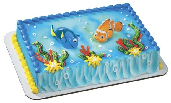 Nemo Cake Decorating Kit : 64 best images about Cakes - Finding Nemo and Sammy the ...