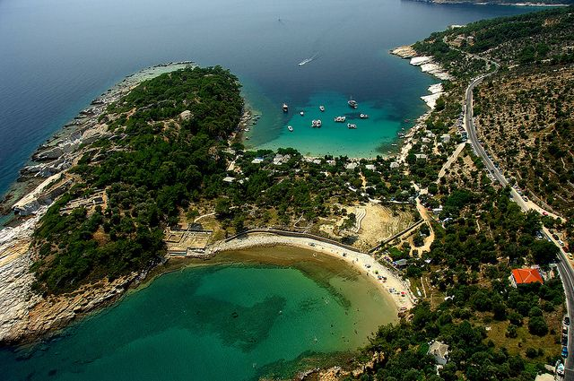 Thassos - Alyki | This is one of the most popular beaches in… | Flickr