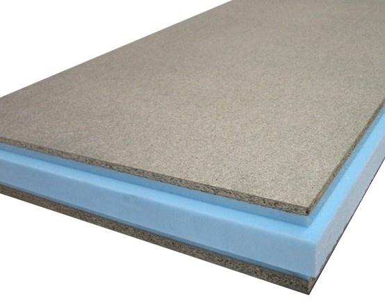 Thermochip thh el panel s ndwich m s sencillo panel - Panel madera cemento ...