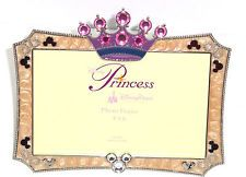Disney Princess Picture Frame  Crown Mickey Mouse Heads Jewels Theme Parks