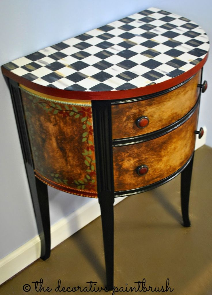 286 Best Painted Furniture With Whimsy Images On Pinterest Painted Furniture Painting