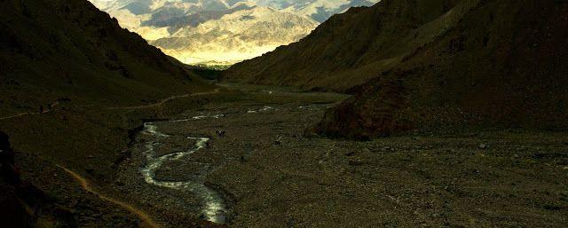 The surreal mountains. A trek to Mount Stok Kangri, Ladakh