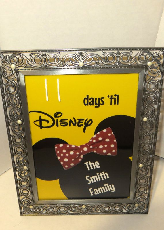 Countdown to Disney Personalized Calendar