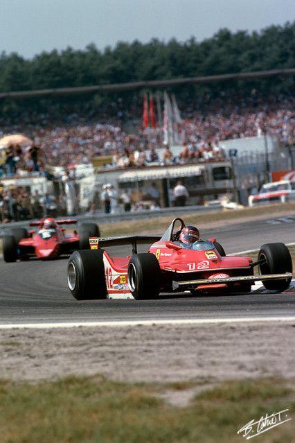 Villeneuve, 1979 Germany Ferrari 312T4