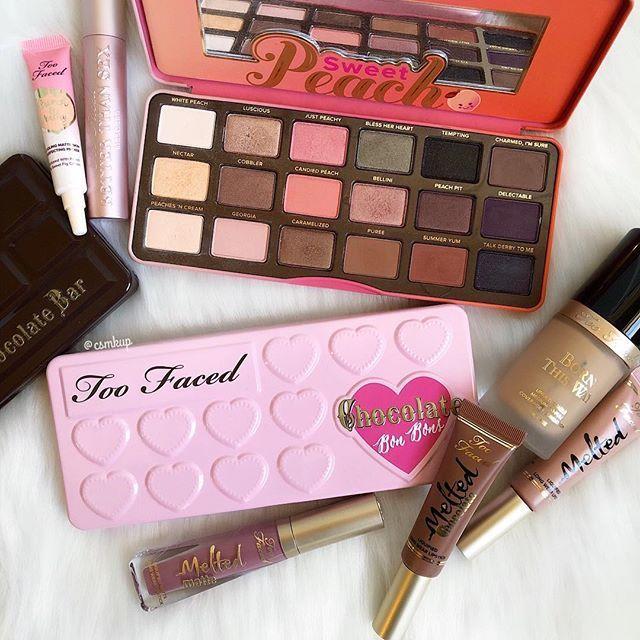 @toofaced  Always loved the sweet peach palette! What is your favorite Too Faced palette?  . . . . . . . #toofaced #sweetpeachpalette #toofacedpeachpalette #eyeshadowpalette #toofacedcosmetics #bornthiswayfoundation #toofacedchocolategold #slave2makeup #like4like #likeforlike #like4follow #makeup #makeupjunkie #makeupmafia #makeuplover #recent4recent #bblogger #pink #wakeupandmakeup #makeuplife #recent #igbeauty #igmakeup #beautycommunity #ilovemakeup #sephora #ultabeauty #instamakeup #in...