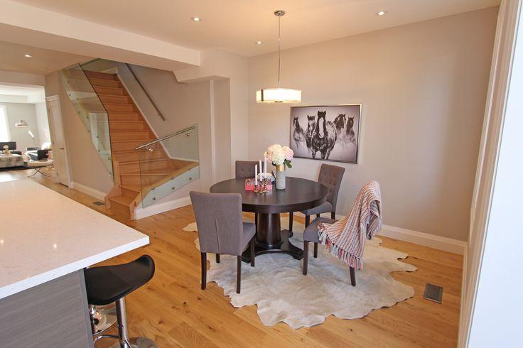 For sale, 563 St Clarens Ave, Toronto, real estate, Bloordale Village, 3 bedroom, 4 bathroom, home, cedar, brick, dining room