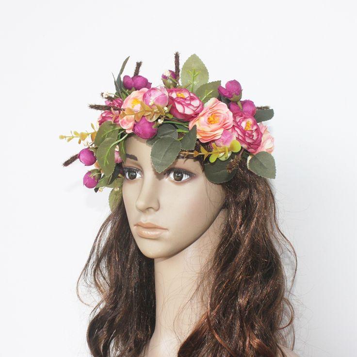 $5.19 (Buy here: https://alitems.com/g/1e8d114494ebda23ff8b16525dc3e8/?i=5&ulp=https%3A%2F%2Fwww.aliexpress.com%2Fitem%2FWomen-s-Artificial-Flower-Wreath-Headpiece-Crown-Flower-Floral-Garland-For-Wedding-Bridal-Deco-And-Hair%2F32773083364.html ) Women's Artificial Flower Wreath Headpiece Crown Camellia Floral Garland For Wedding Bridal Deco And Hair Accessories Boho for just $5.19