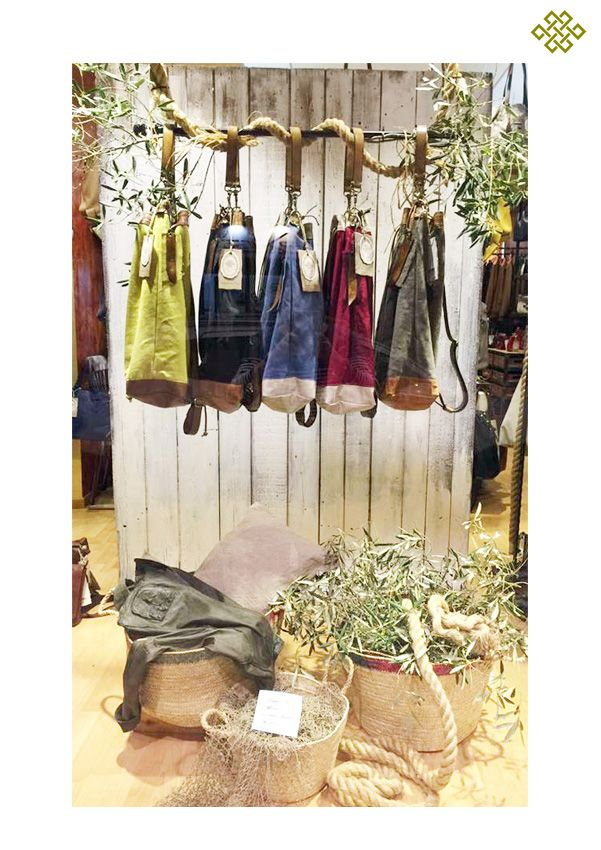 new Shop Window Ocean sac & Olive tree