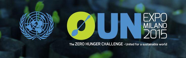 Logo for UN participation at Expo Milano 2015!
