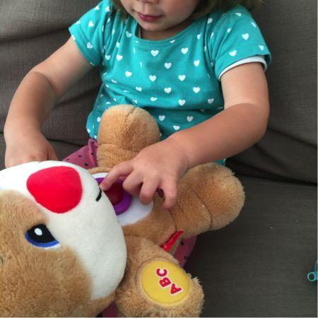 Fisher Price educatief speelgoed / toys : Kelly Caresse | Lana loves: De meegroei puppy van Fisher-Price