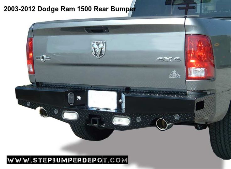 Dodge Ram 1500 Bumpers Front Rear Bumpers Step Bumper