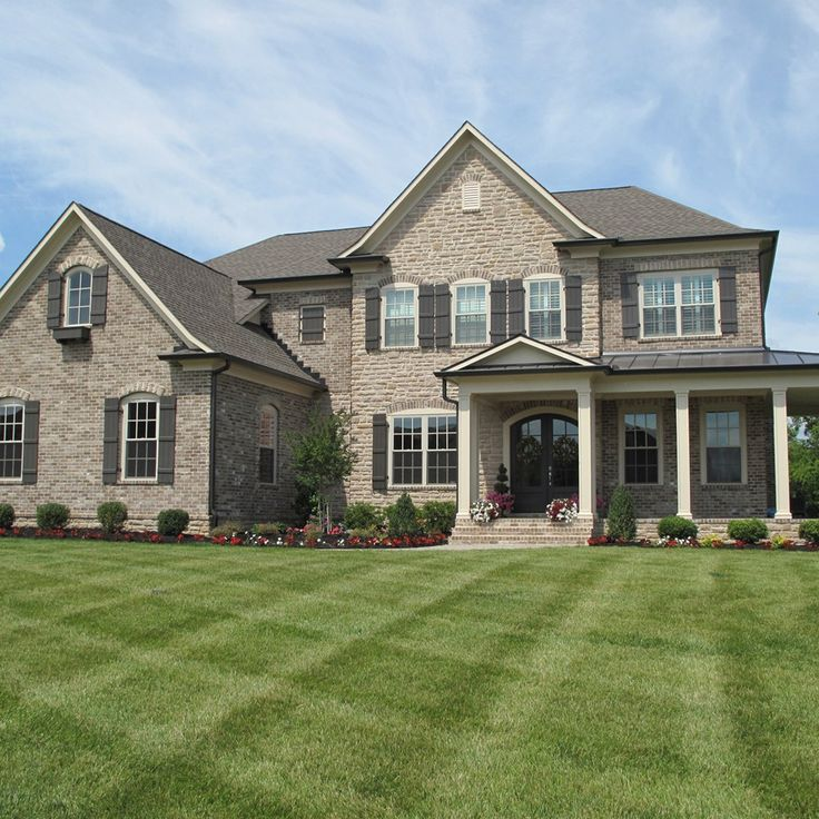 Pinterest the world s catalog of ideas - Houses with stone and brick on exterior ...